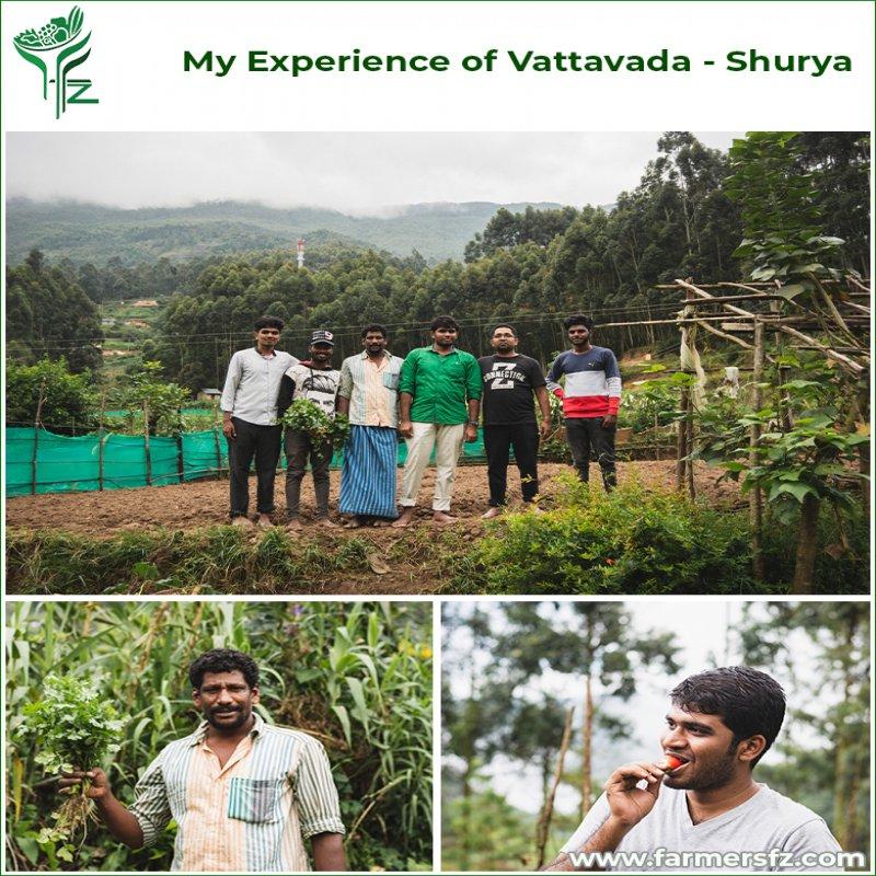 My Experience of Vattavada - Shurya